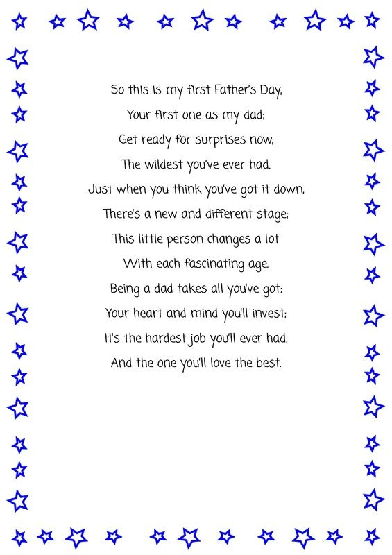 happy fathers day poem husband