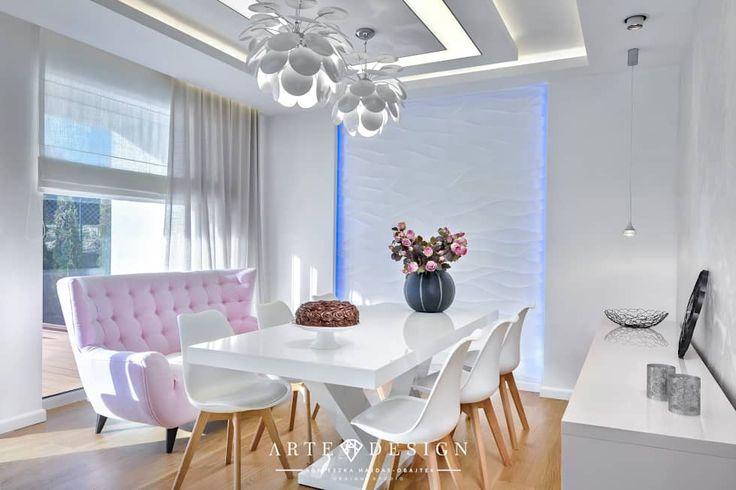Salas de jantar modernas por Arte Dizain. Agnieszka Hajdas-Obajtek