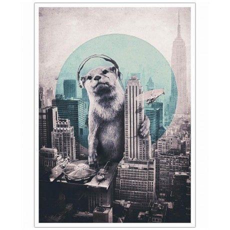 DJ as Art Print by Ali Gulec | Art. Everywhere.