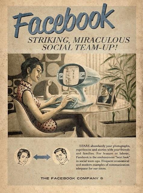 vintage facebook ad