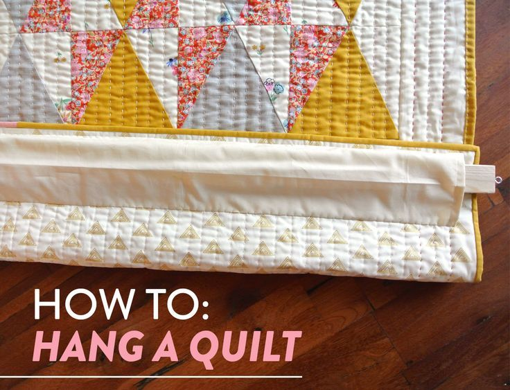 How To Hang A Quilt Suzy Quilts Hanging Quilts Quilted Wall