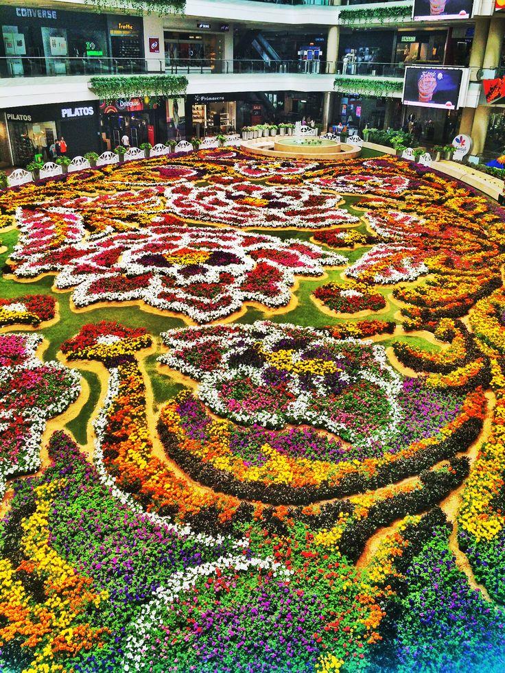 Tapete de flores Medellin Colombia