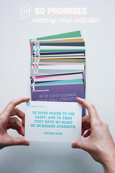 Gods promises bible verse printable cards