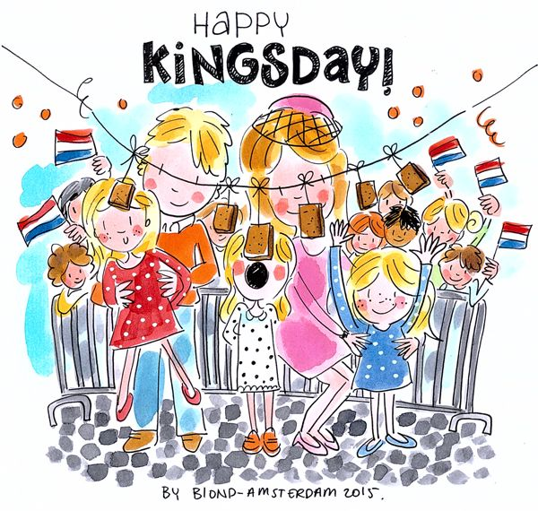 Happy Kingsday by Blond-Amsterdam