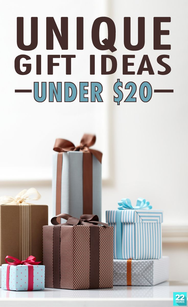Unique Christmas Gifts For Men Under $20