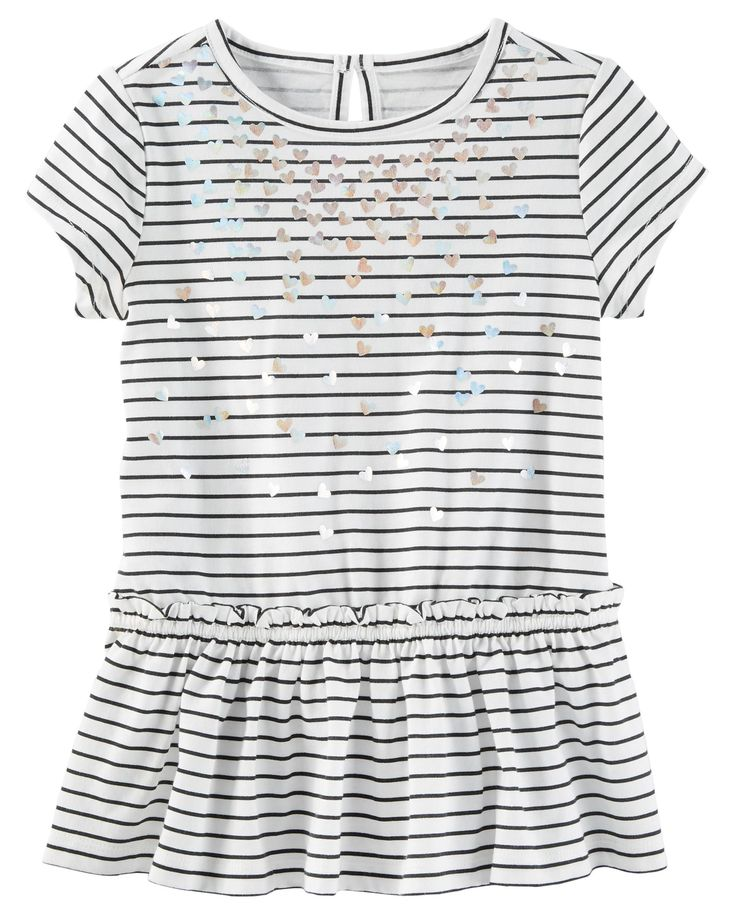 Kid Girl Striped Jersey Tunic | OshKosh.com