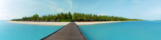 Sun Island Maldives Mural - Amri Designs| Murals Your Way