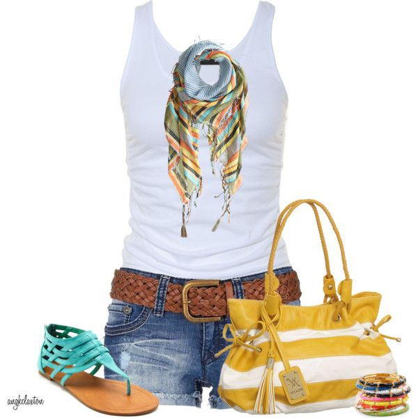 Casual OutfitCasual Summer, Style, Clothing, Cute Summer Outfit, Fashionista Trends, Summer Outfits, Casual Outfits, Summer Colors, Outfit Shorts
