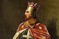 リチャード獅子心王1189-1192の第3回十字軍遠征での出来事です。アッコン攻略の際に、リチャード1世が、オーストリア公レオポルド5世の軍旗を勝手に撤去したことで、レオポルドが激怒してしまいました。  レオポルド5世はイギリス側に意地悪をして、幽閉した場所を教えなかったため、家臣であるブロンデルが自分とリチャード王だけしか知らない歌を歌いながら、山から山へ巡り歩きました。そしてデュルンシュタインに来たとき、彼がその歌の第1節を歌うと、城の中からその歌の第2節が聞こえてきて、やっと王の消息が掴めたといいます。イギリスは釈放の条件として、高額な身代金(15万マルク、わかりやすく言えば銀10トン分相当)を要求されました。