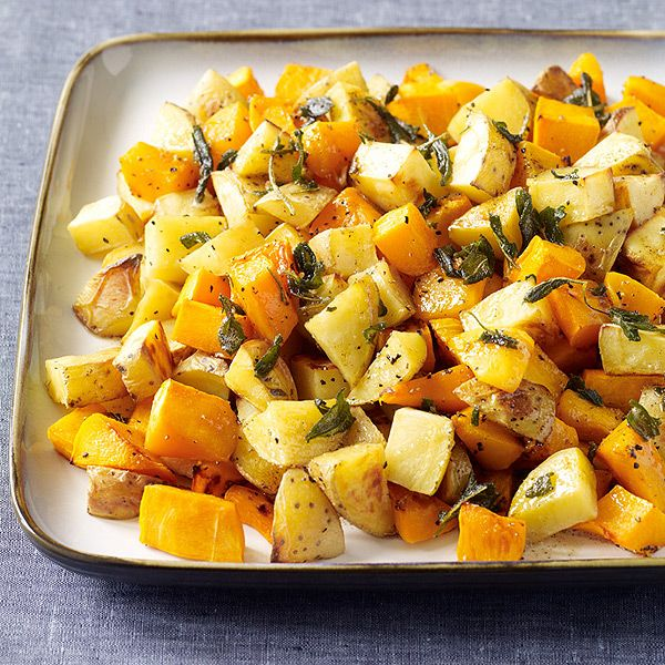 Weight Watchers Butternut Squash and Yukon Gold Potatoes with Sage Brown Butter: 5 Points+
