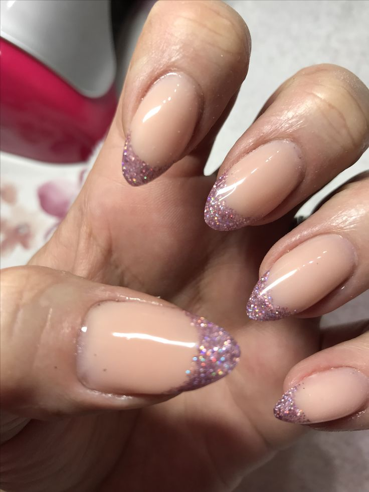 1st attempt of reverse smile lines with encapsulated glitter using iJel Camoflauge and Pamela glitter on myself. #INKLondon #inklondonijel #inklondon #inklondonnails #inklondonglitter #reversesmileline #glitternails