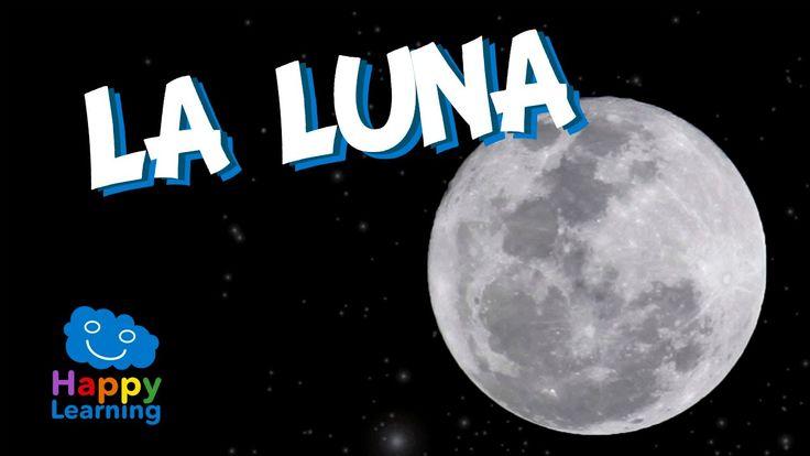 La Luna | Videos Educativos para Niños - YouTube