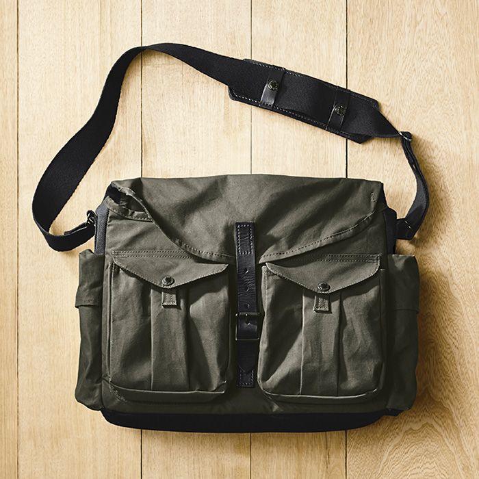 www.Filson.com | The David Alan Harvey Messenger Camera Bag.
