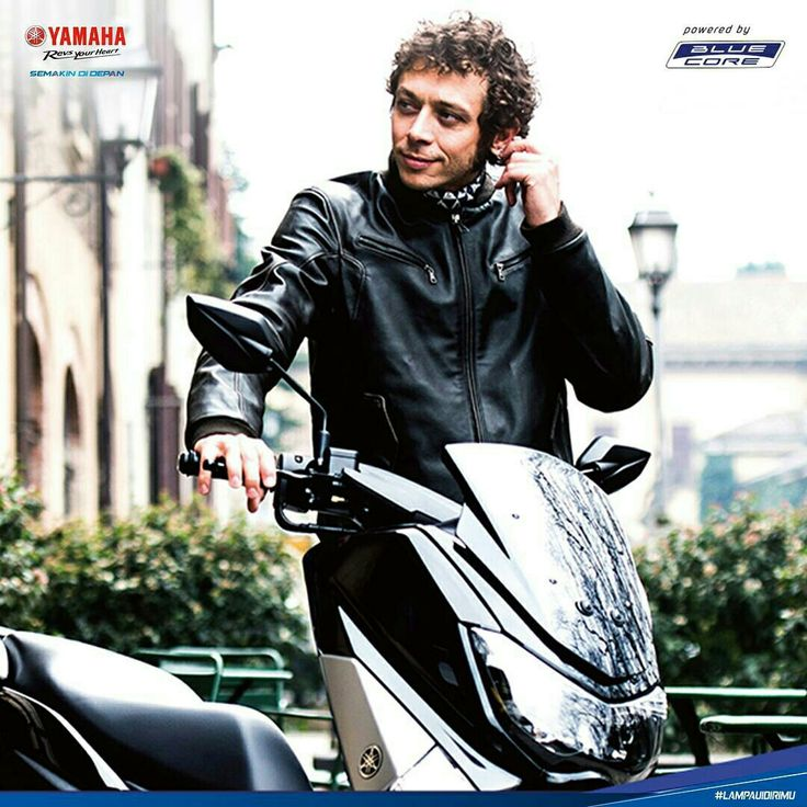Vale with Yamaha NMAX
