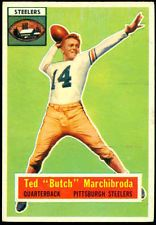 TED MARCHIBRODA - 1956 TOPPS #51