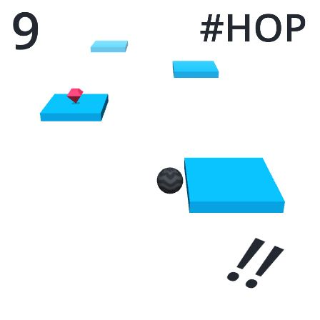 OMG! I made 9 hops in #Hop ! Can you beat my score ? https://itunes.apple.com/app/hop/id1154436120