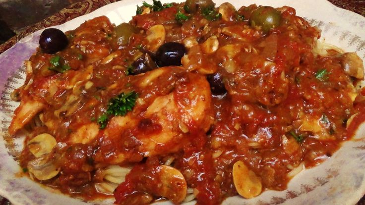 This dish has an interesting provenance, it's named after Marengo Italy, where Napoleon fought a battle with the Austrians and his private chef, french of course made this for him after the s…