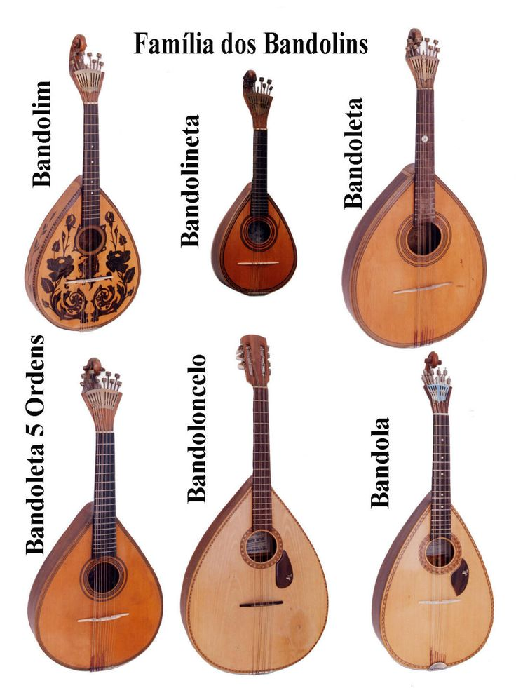 Portuguese Bandolins