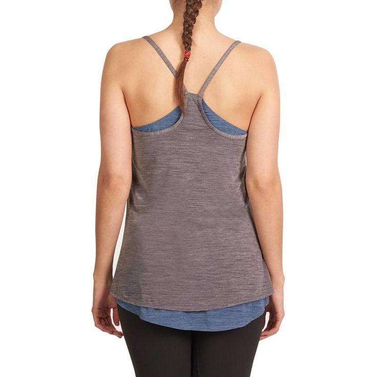 Kadın Sıcak Hava Yoga-Pilates Kıyafetleri Kadın Spor Giyim - YOGA+ LIGHT SPORCU ATLETİ DOMYOS - Sporlar