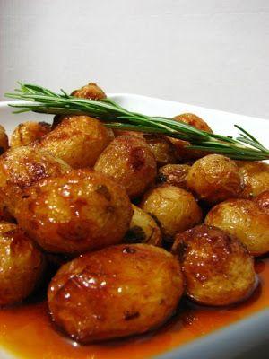 Cinco Quartos de Laranja: Batatas assadas no forno com ervas e alecrim