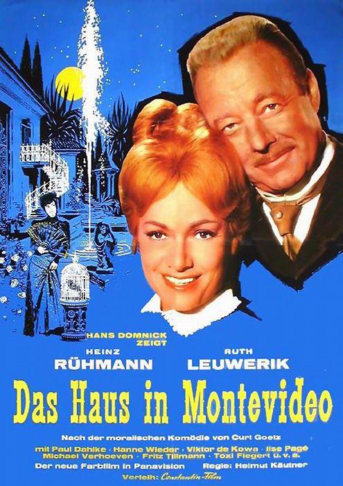 Poster zum Film: Das Haus in Montevideo. 1963