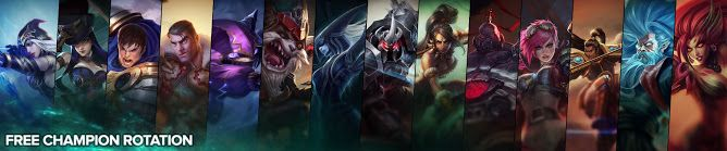 nice Free Champion Rotation, Week of August 22nd
