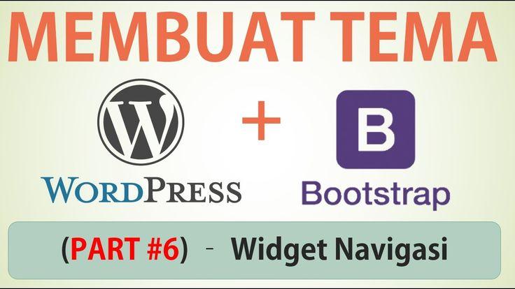 Membuat Desain Web dengan Bootstrap - Part #6 (Widget Sidebar dan Navigasi)