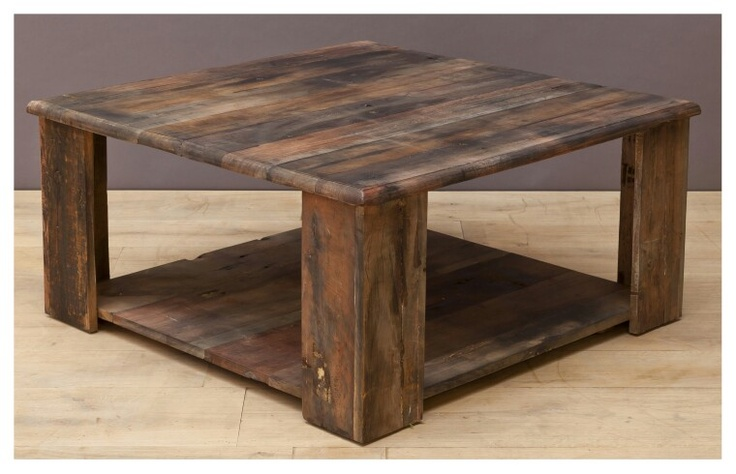 Square coffeetable
