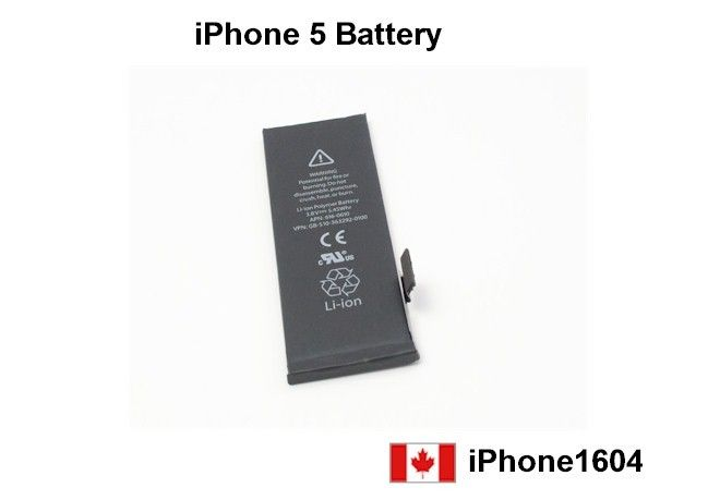 NEW iPhone 5 5G Li-ion Battery Replacement with Flex Cable  Special Price: $18.50