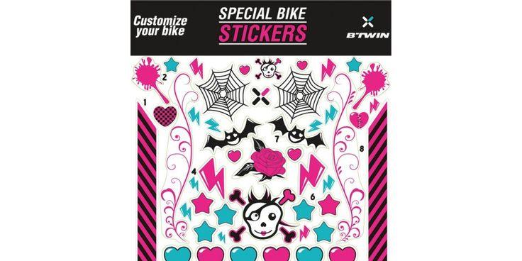 Customisation vélo enfant - STICKER VELO FILLE