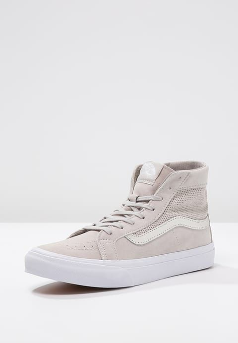 Sneakers women - Vans SK8 coloris silver cloud (©zalando)