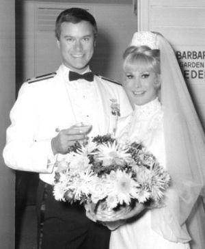 TV show fashion history - I Dream of Jeannie - wedding day with Tony.jpg