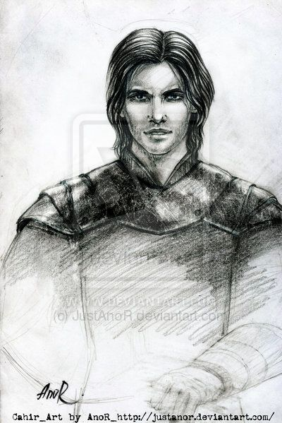Sketch of Cahir by JustAnoR on DeviantArt