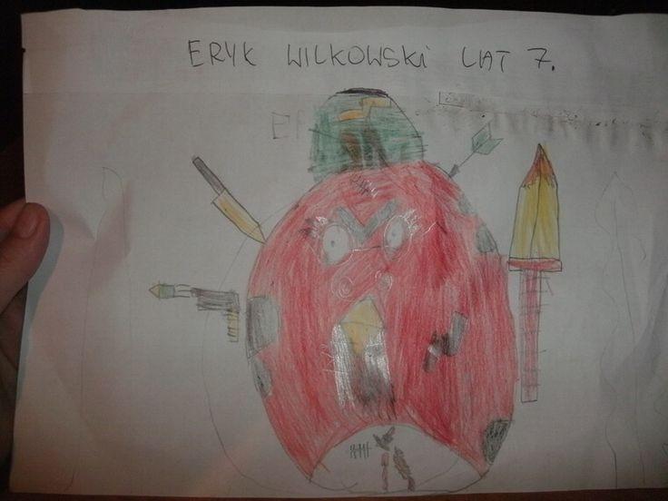 Wymyślona maskotka na nasz konkurs http://dzieciociuszek.pl/photoblog