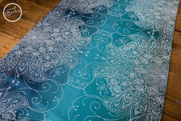 Oscha Sundara Frost Wrap (wild silk)