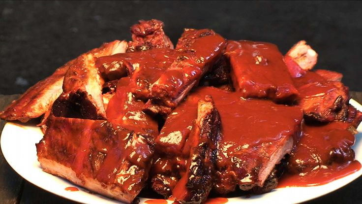 This Barbecue Spare Ribs recipe is easy to do on the grill as shown by the BBQ Pit Boys.