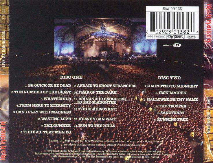 Live at Donington 1992 - Iron Maiden   Songs, Reviews, Credits   AllMusic
