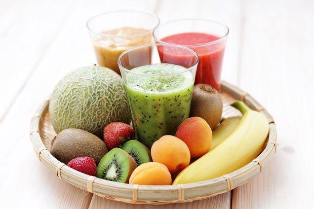Smoothie din fructe pentru copii