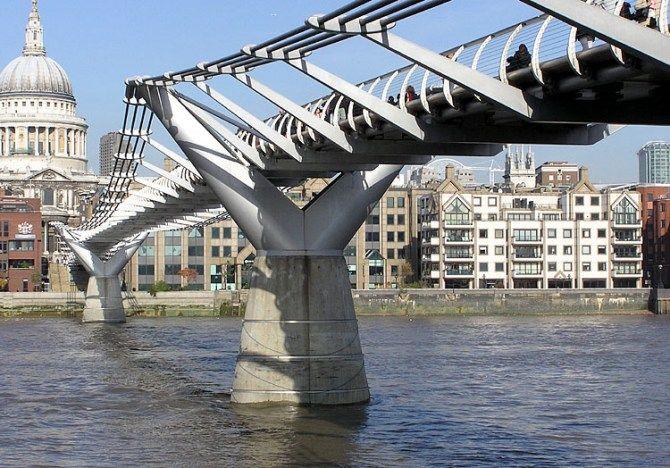 Harry Potter Filming Locations In London Little Red Foxes Millennium Bridge London Millennium Bridge Harry Potter Filming Locations