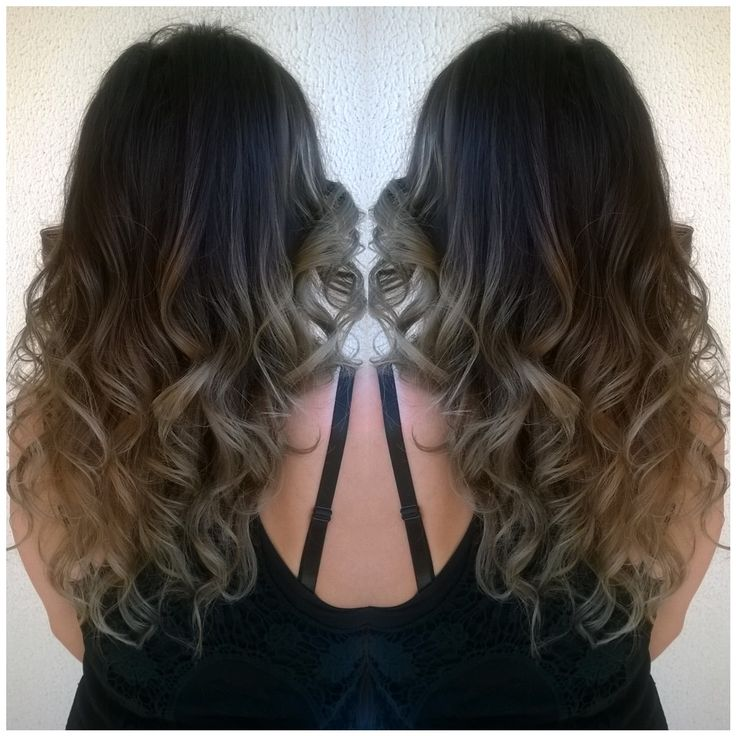 long hair , brunette, balayage, natural soft ombre Cut & color by Penny Voudouri
