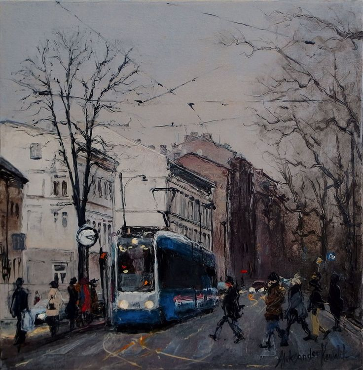 Krakow's Trams 04 by szklanytygrys on DeviantArt