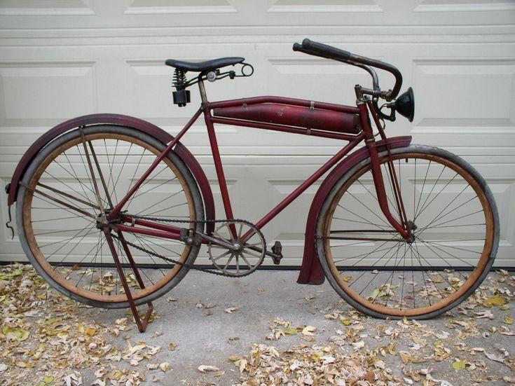 1916 Indian Motobike - Dave's Vintage Bicycles