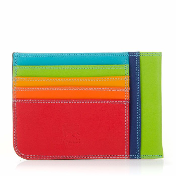 Rainbow card wallet