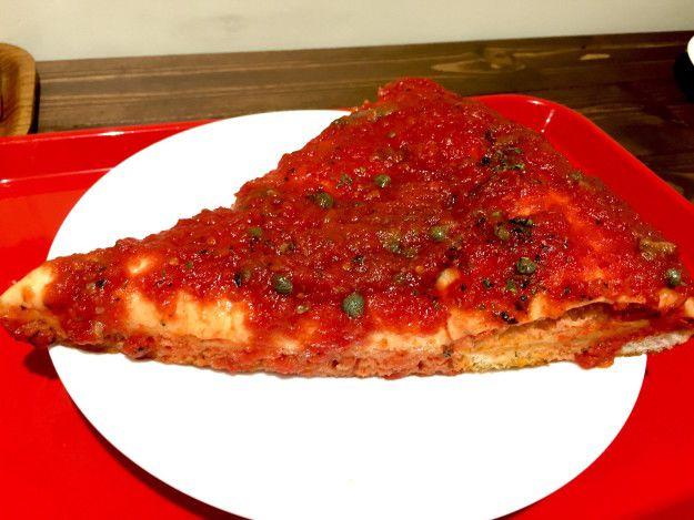 友だちと行くなら「マリナーラ」も! | 話題の老舗ピザ「スポンティーニ」 初心者はこれを食べよう!