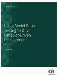 The  #Model #Based #Testing to Drive Behavior-Driven Development