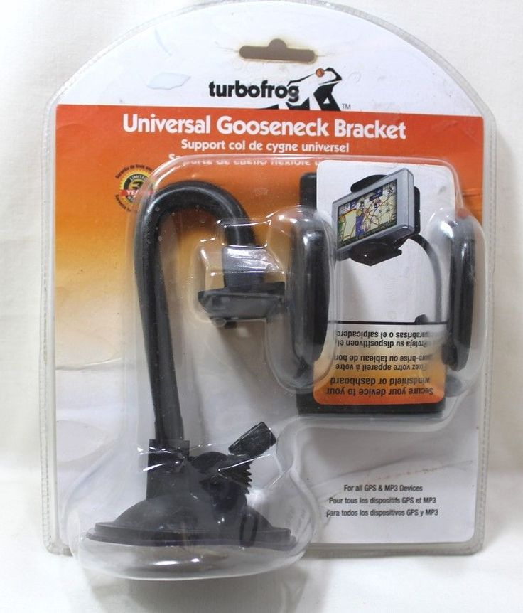 Turbofrog Universal Gooseneck Bracket For All GPS And MP3 Devices | eBay