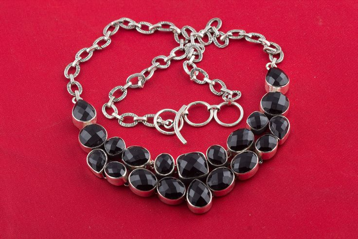 Beautiful 925 Sterling #Silver #Black #Onyx #Necklace for woman, #jewelry We deals in all types of jewelry like #Children's #Jewelry, #Engagement & #Wedding, #Ethnic, Regional & Tribal, #Fashion #Jewelry, #Fine #Jewelry, #Handcrafted, #Artisan Jewelry, #Jewelry #Design & Repair, #Men's #Jewelry, #Vintage & Antique #Jewelry, #Wholesale Lots so please ask us if you have any enquiry