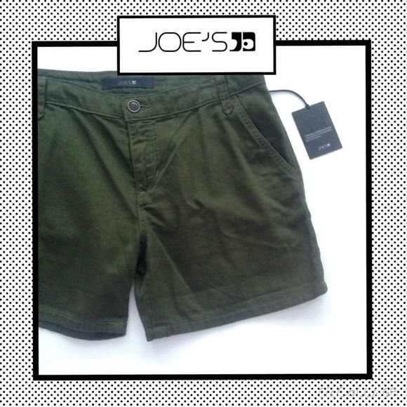 JOE'S JEANS Military Shorts in Olive JOE'S JEANS Military Shorts in Olive. Joe's Jeans Shorts