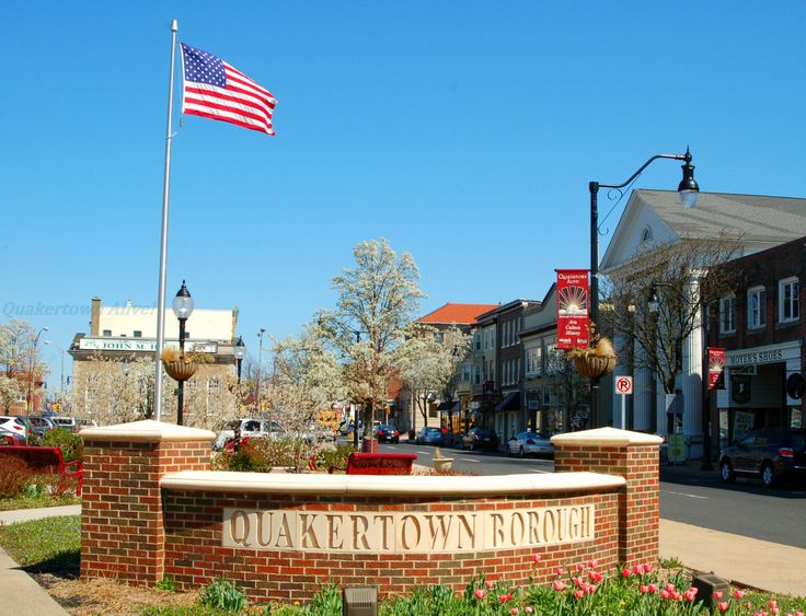 Downtown Quakertown, PA Unbeatable small town American charm