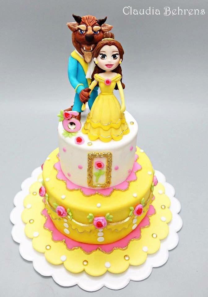 The Beauty & The Beast Cake